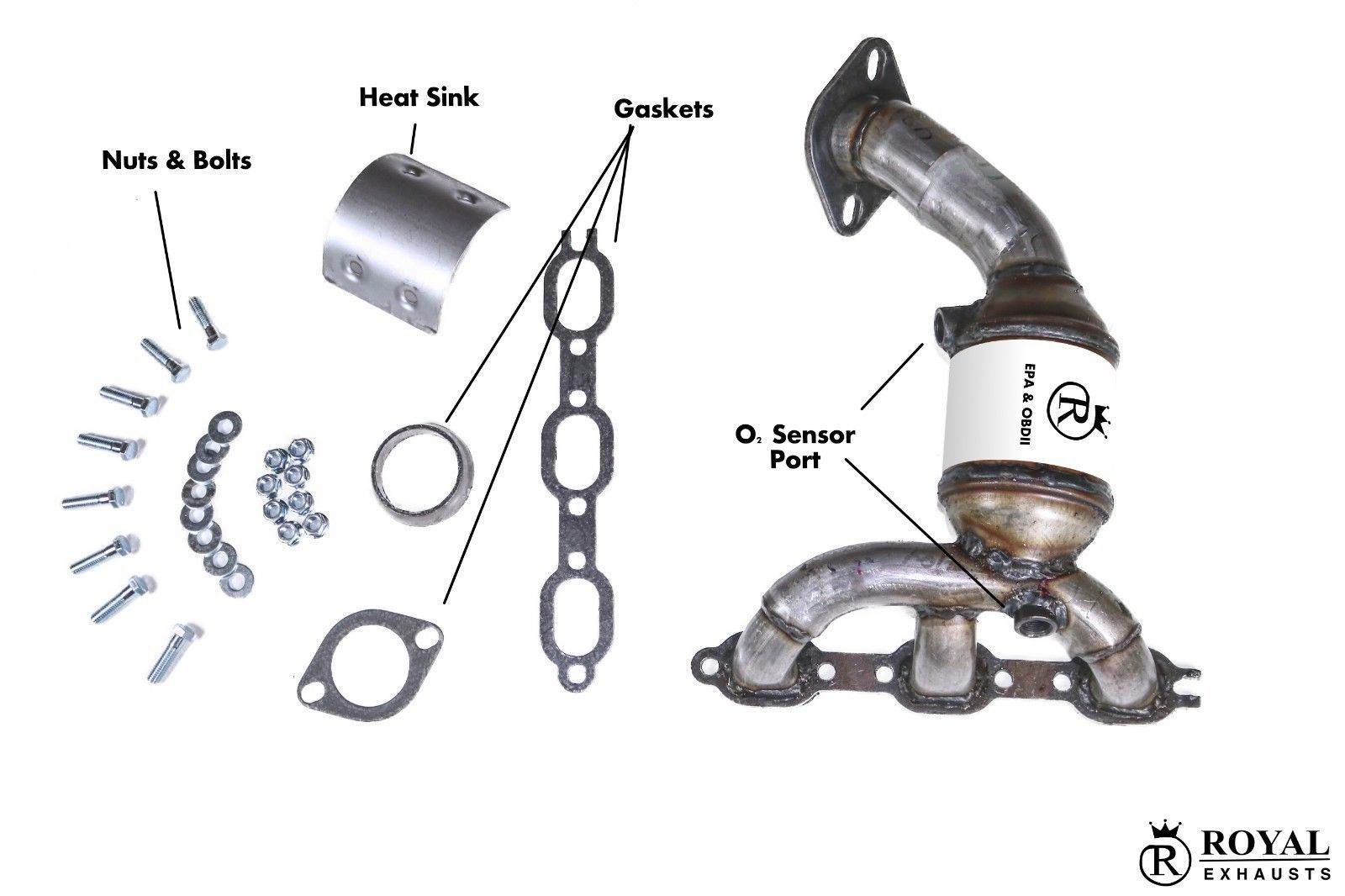 Manifold Amp Catalytic Converter