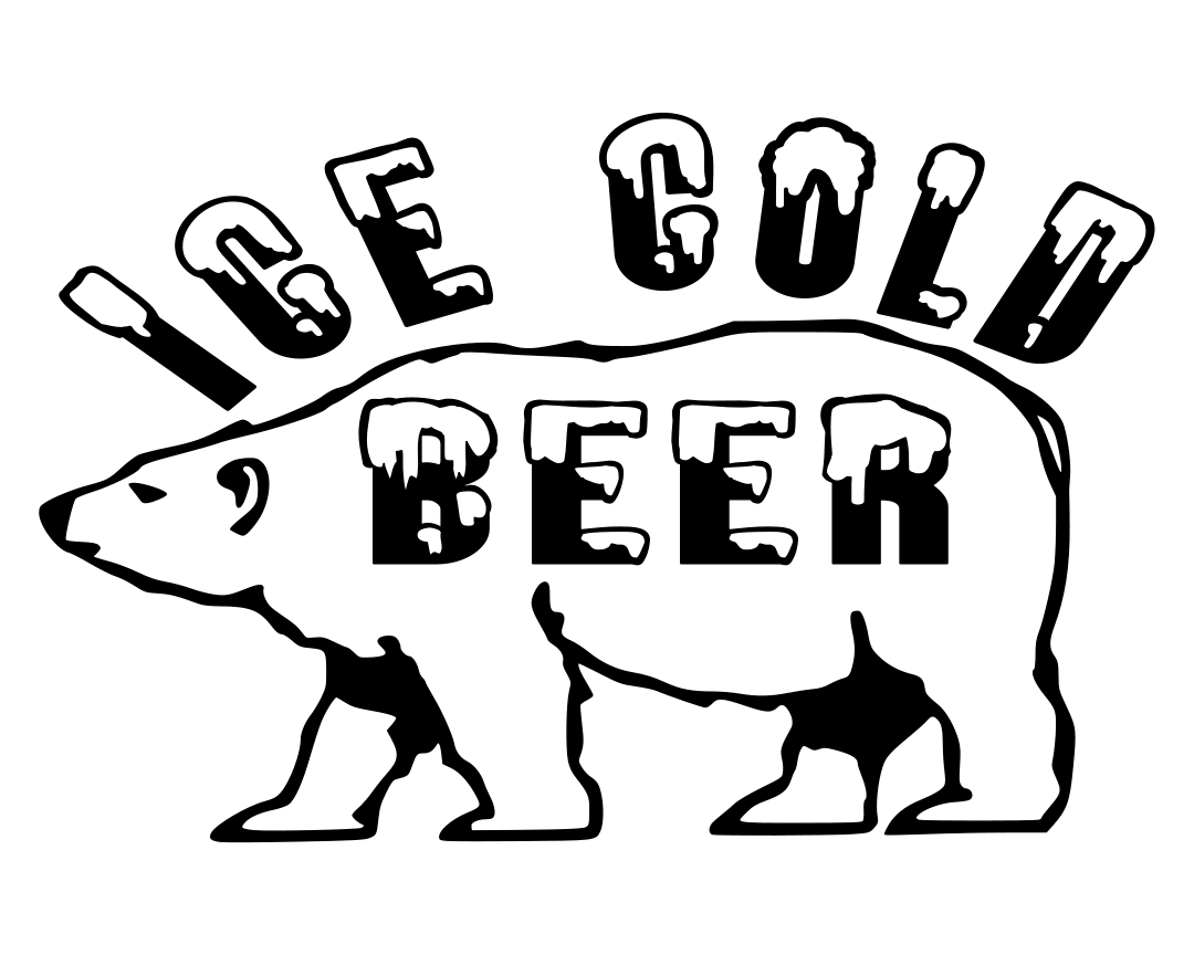 Ice Cold Beer Polar Bear