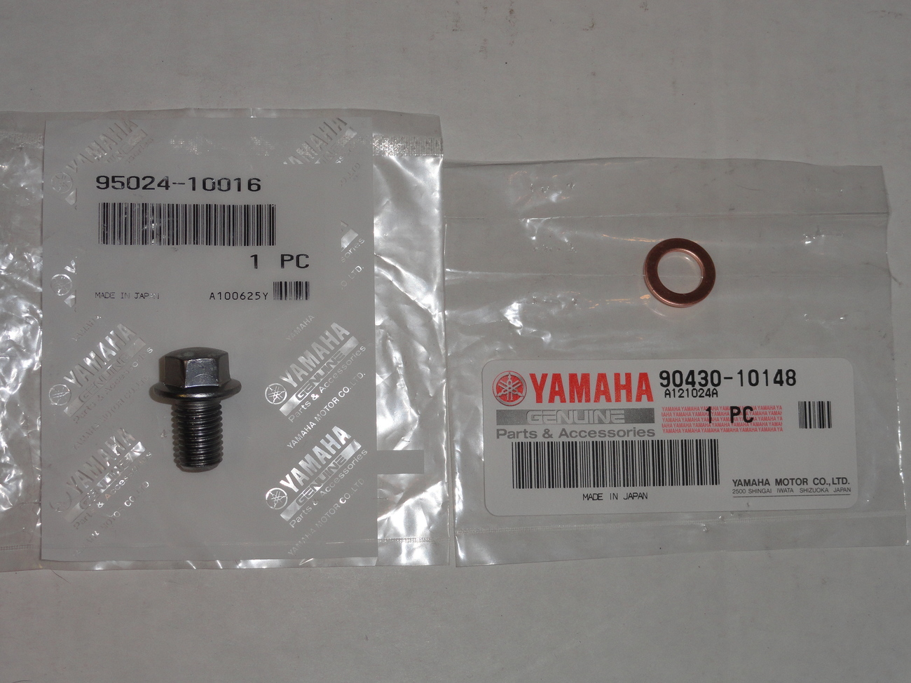 Case Oil Drain Plug Oem Yamaha Yfz450 Yfz 450 Yz450f