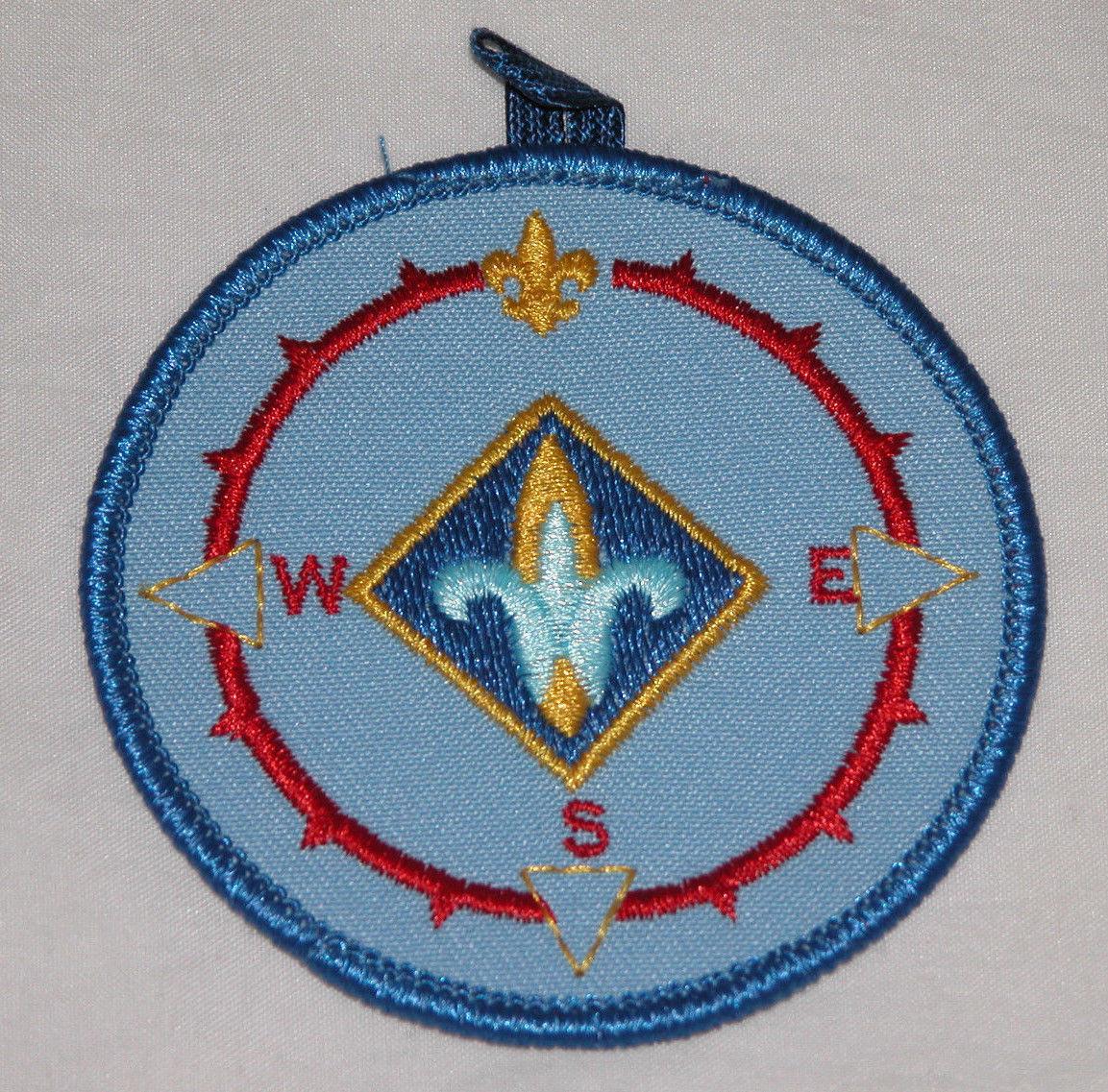Cub Scout Discontinued Bsa Webelos Compass Point Emblem