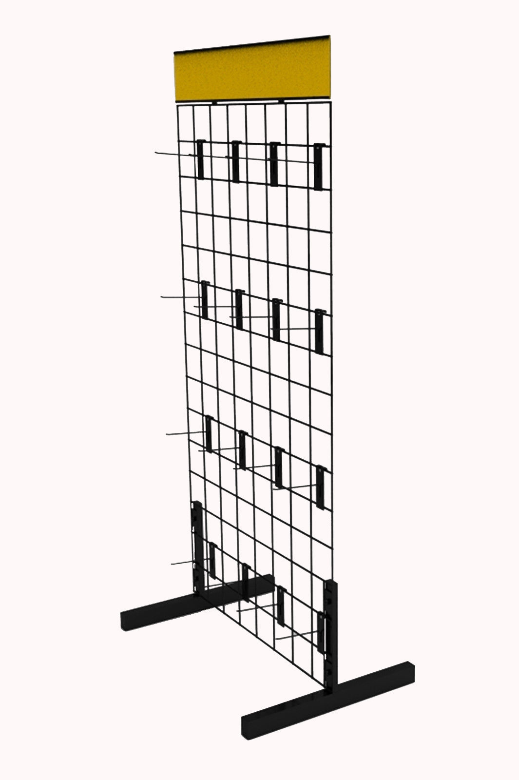 Gridwall Rack Metal Wire Floor Display And 46 Similar Items