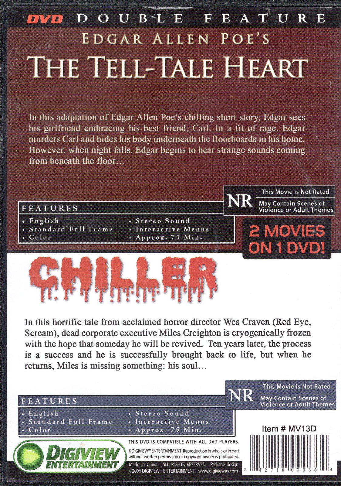 The Tell Tale Heart Chiller And 31 Similar