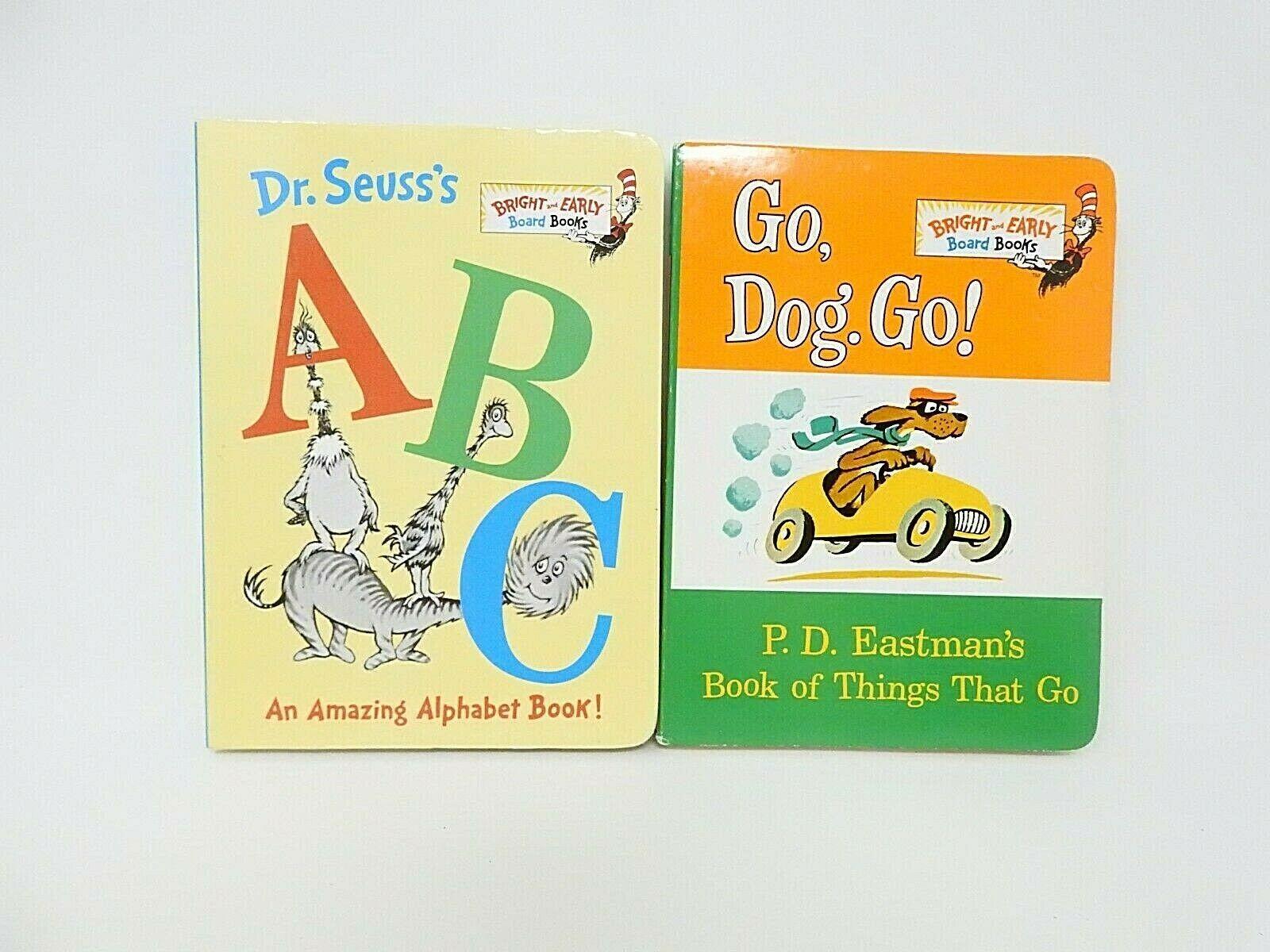 Dr Seuss S Abc An Amazing Alphabet Book And Go Dog Go
