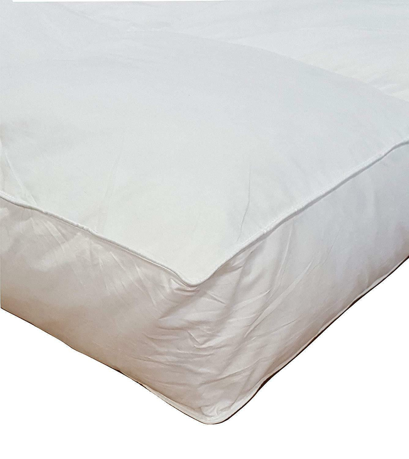 4 Cal King Goose Down Mattress Topper Featherbed