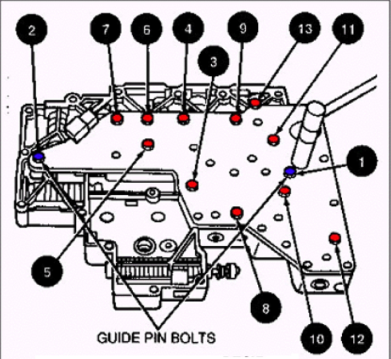 4r70w Valve Body Diagram
