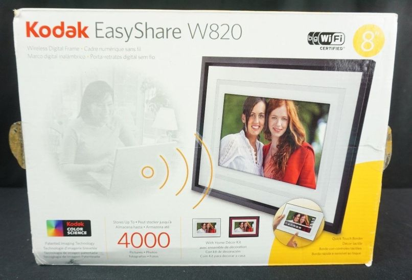 Kodak Easyshare M820 Digital Frame White Screen | Framesite.co
