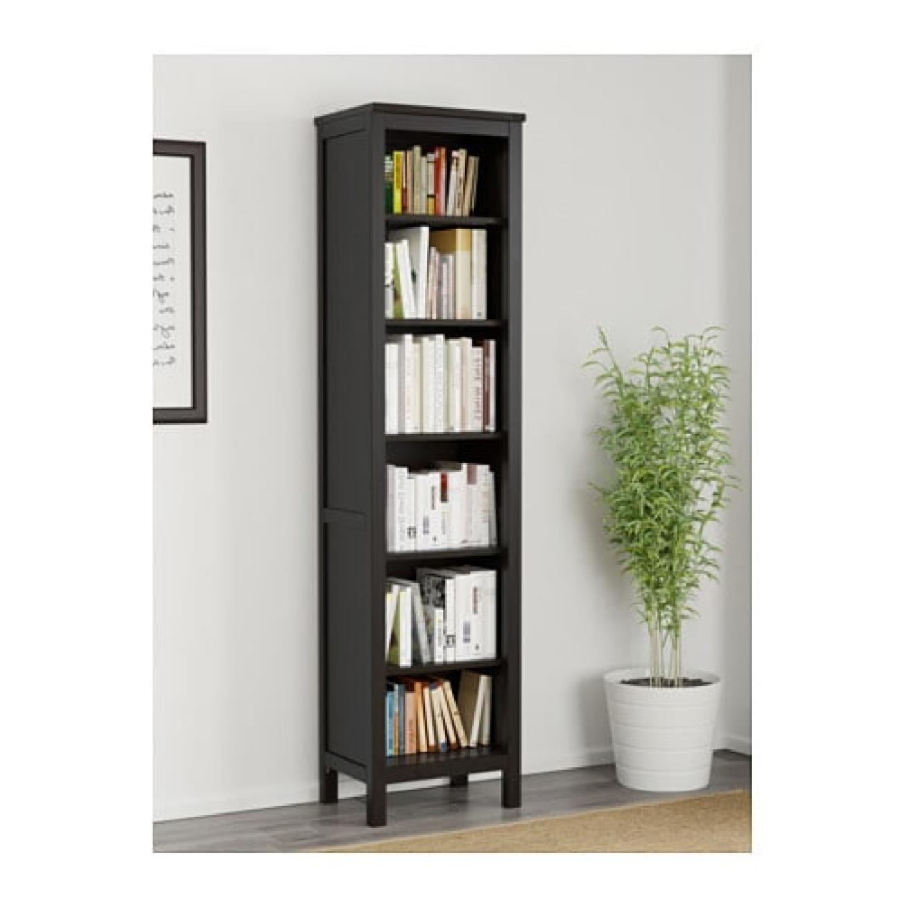 Ikea Hemnes Bookcase Black Brown 603 717 62