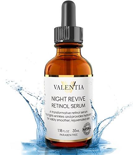 night revive retinol serum, anti aging, skin care,