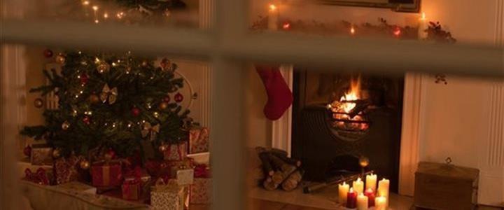 Kika in hos andra jul
