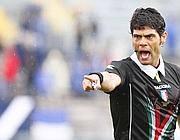 L'arbitro di Brescia-Varese