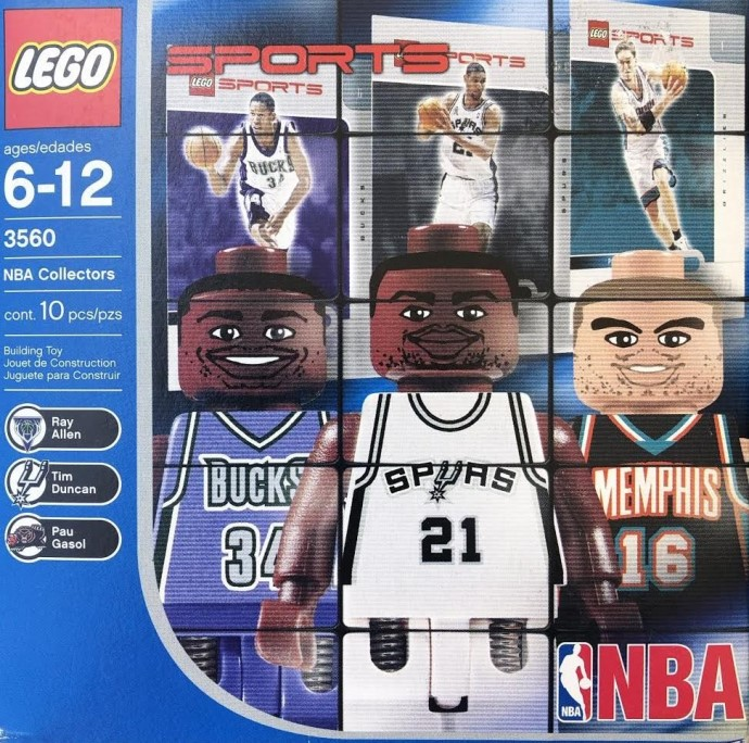 3560 1 NBA Collectors 1 Brickset LEGO Set Guide And Database
