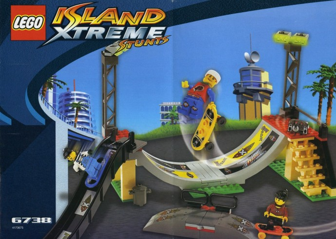 6738 1 Skateboard Challenge Brickset LEGO Set Guide