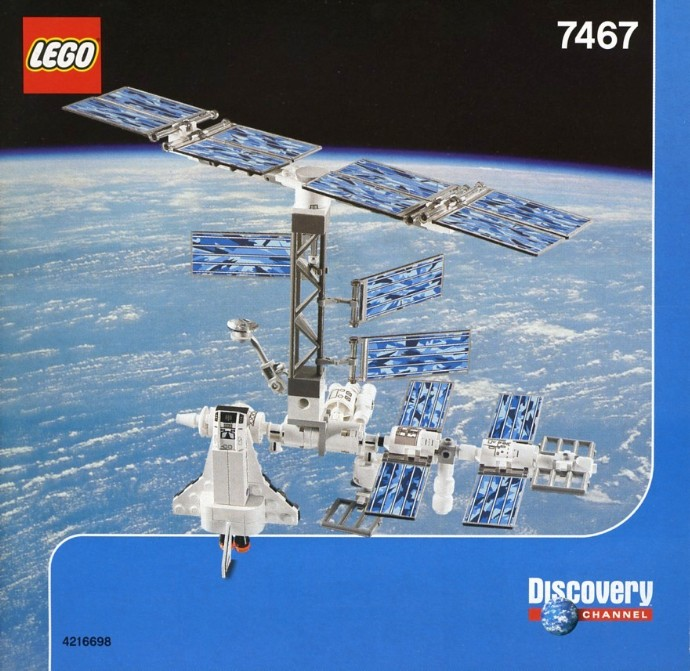 7467 1 International Space Station Brickset LEGO Set
