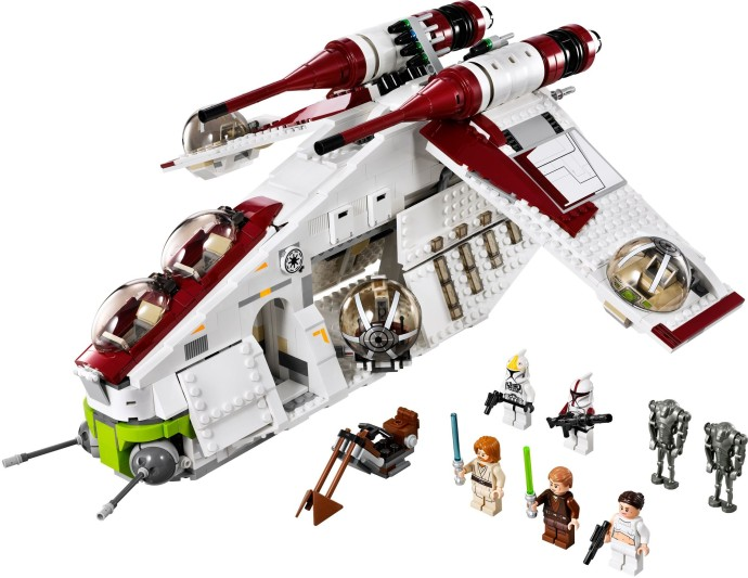 Whats Missing Attack Of The Clones Brickset Lego Set