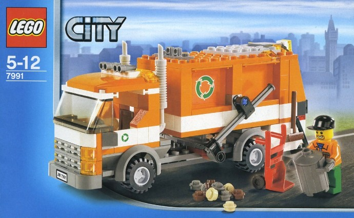 7991 1 Recycle Truck Brickset LEGO Set Guide And Database