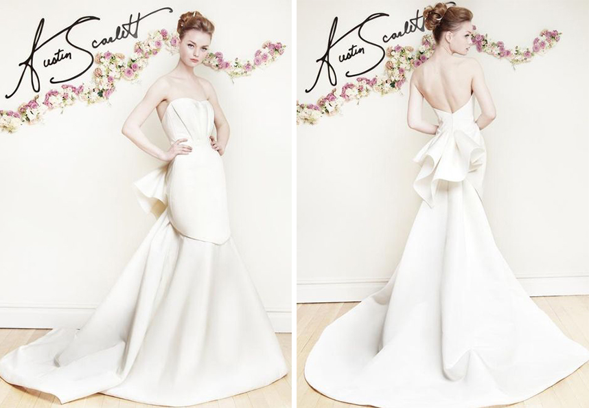 Austin Scarlett Wedding Dress Spotlight