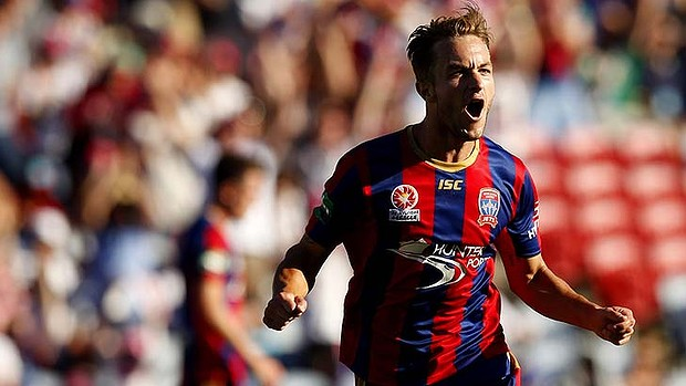 Adam Taggart made waves with an A-League hat-trick against Melbourne Heart and the young Newcastle Jets striker is definitely one to look out for.