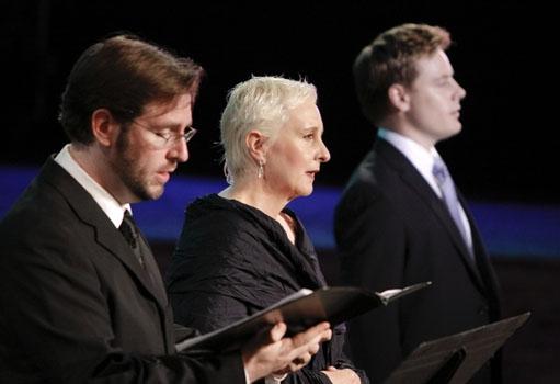 Steve Pence, Lauren Flanigan, Michael Marcotte at Stephen Schwartz: Making Good