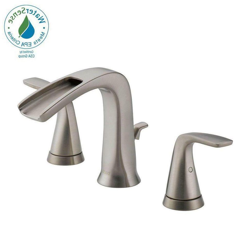 delta tolva 35724lf ss eco bathroom sink faucet brushed nickel finish