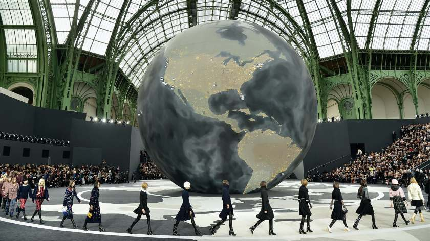 Chanel Autumn/Winter 2013 | Source: Getty Images