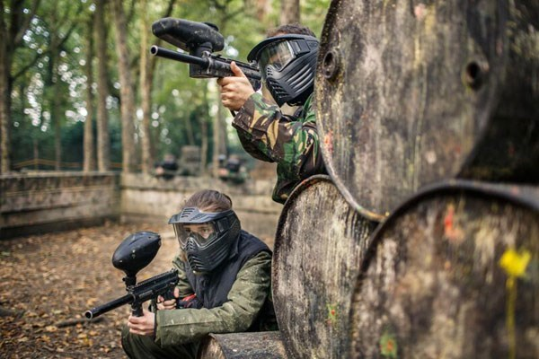 Full Day Paintballing For Four From Buyagift