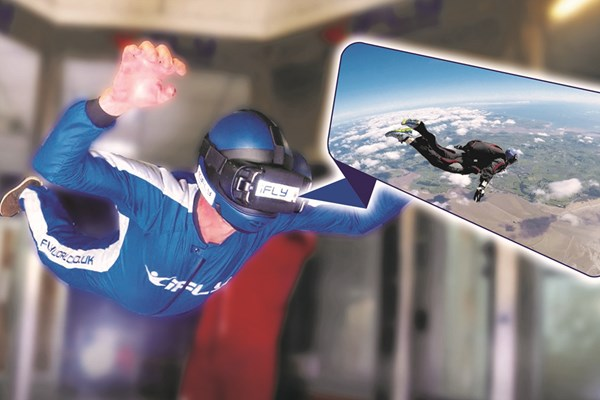 IFly Indoor Skydiving And Virtual Reality Flight From Buyagift