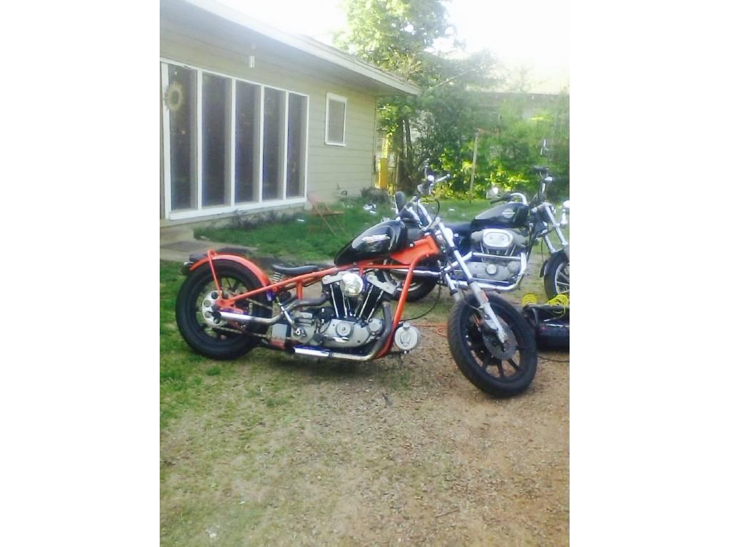 1975 Harley Davidson Ironhead Sportster
