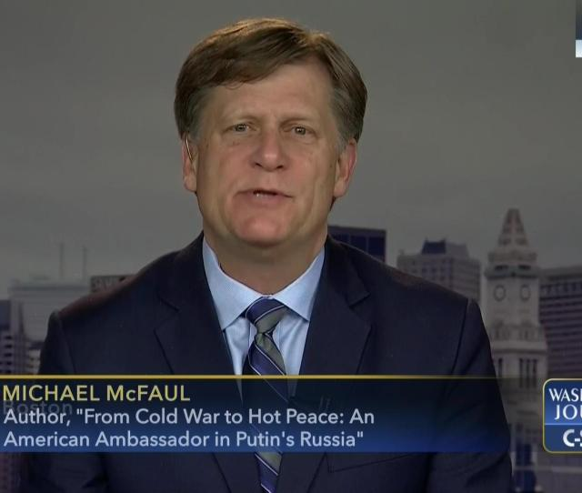 Washington Journal Michael Mcfaul Discusses Book Russia Relations May