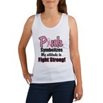 Pink Ribbon Fight Strong Women's Tank Top