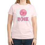 Go Pink Breast Cancer Women's Light T-Shirt