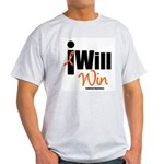Leukemia I Will Win Light T-Shirt