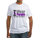 I Wear Purple (GP) Fitted T-Shirt