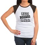 Lung Cancer Can't Bully Me Women's Cap Sleeve T-Sh