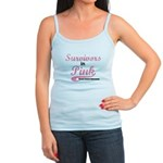 Breast Cancer Survivors Jr. Spaghetti Tank