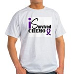 I Survived Chemo Light T-Shirt