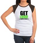 GetLoudAgainstCancer Women's Cap Sleeve T-Shirt