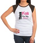 Think Pink Women's Cap Sleeve T-Shirt