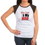 Lung Cancer Hero (Dad) Women's Cap Sleeve T-Shirt