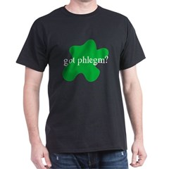Black T-Shirt phlegm