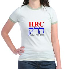 HRC in Hebrew 2008 jews For Hillary