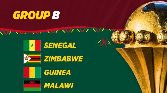 group B Afcon