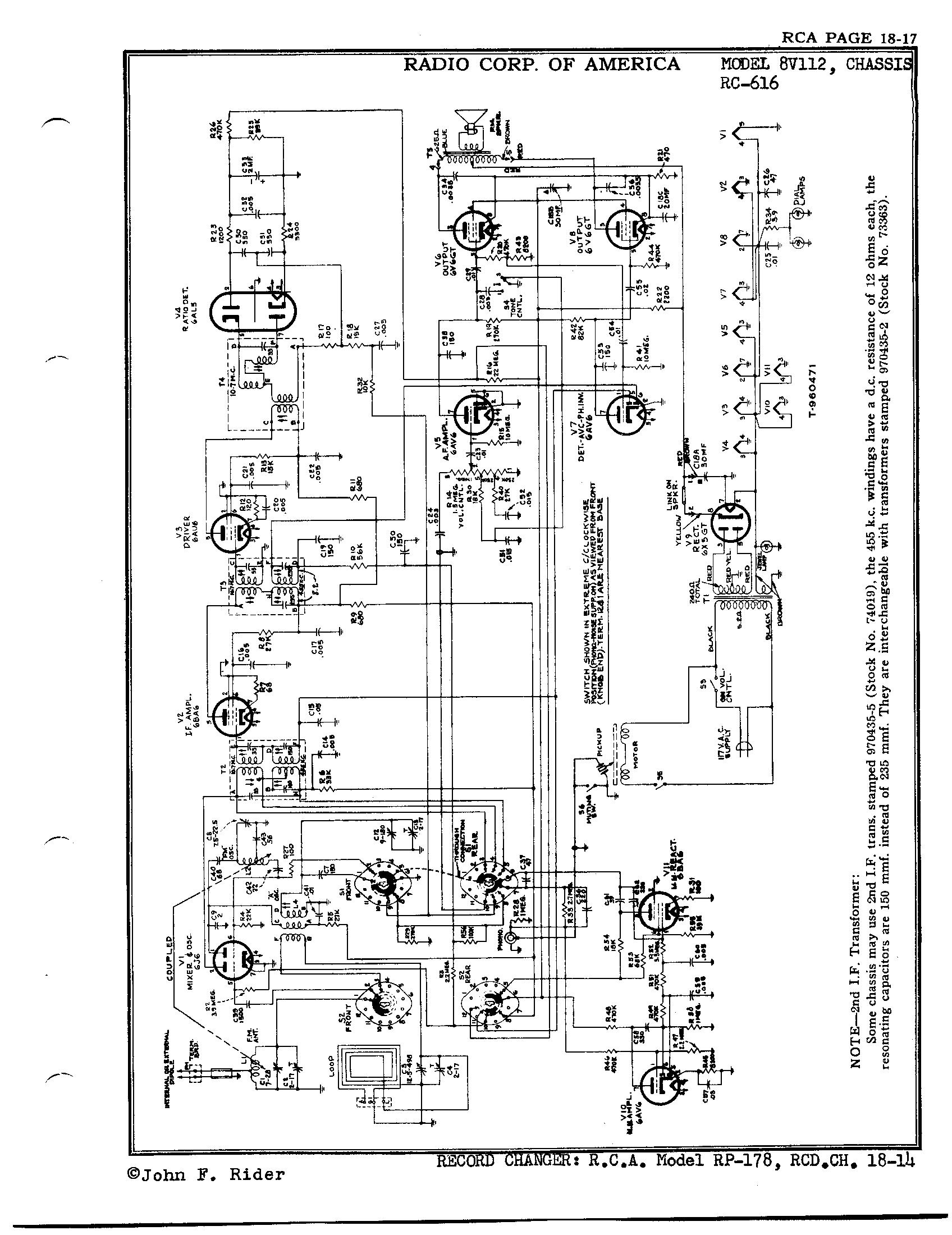 Rca Antique Radio Schematics