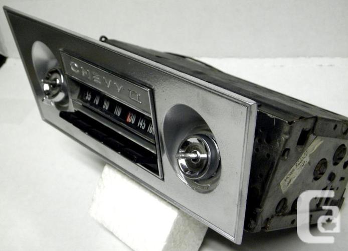 1966 Nova Radio Delete Plate