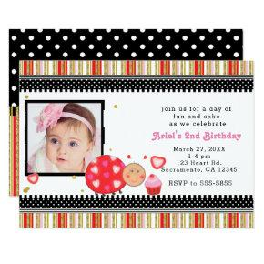 Valentine Party Birthday Invitations Candied Clouds