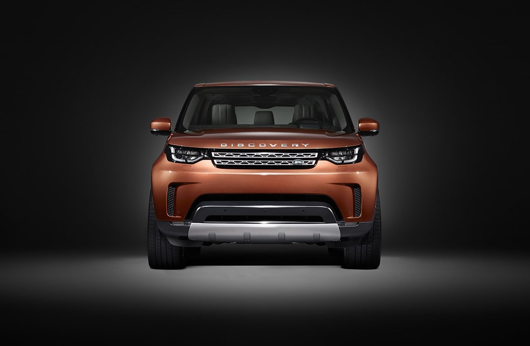 The new Land Rover Discovery: covers come off at the Paris motor show