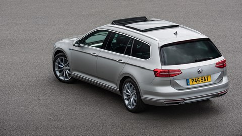 Discreet badging aside, there's little to give away the Passat GTE