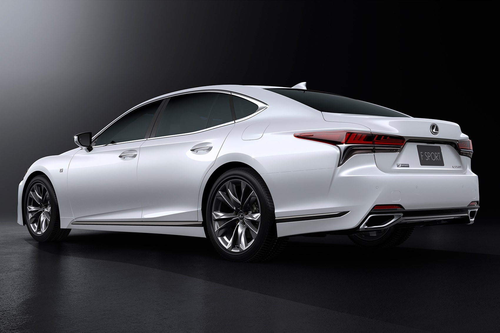 Lexus LS 500 F Sport unveiled at NYIAS 2017 by CAR Magazine