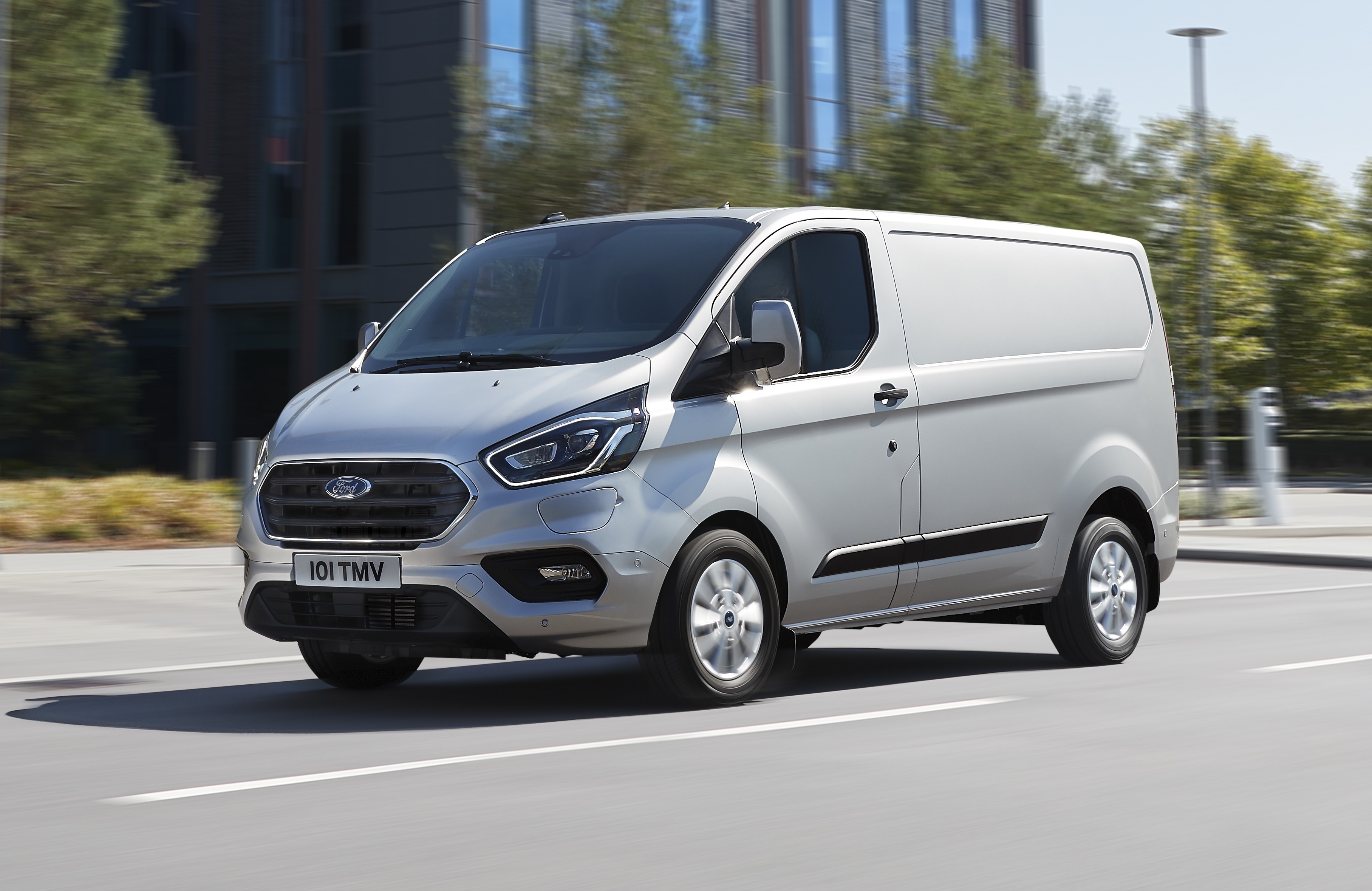 Ford Transit Custom Phev Lutilitaire Hybride Rechargeable