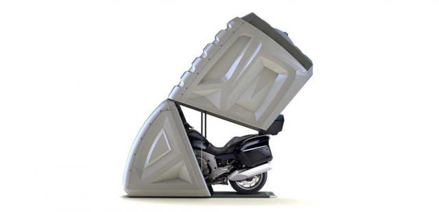 voici comment mettre en boite sa moto