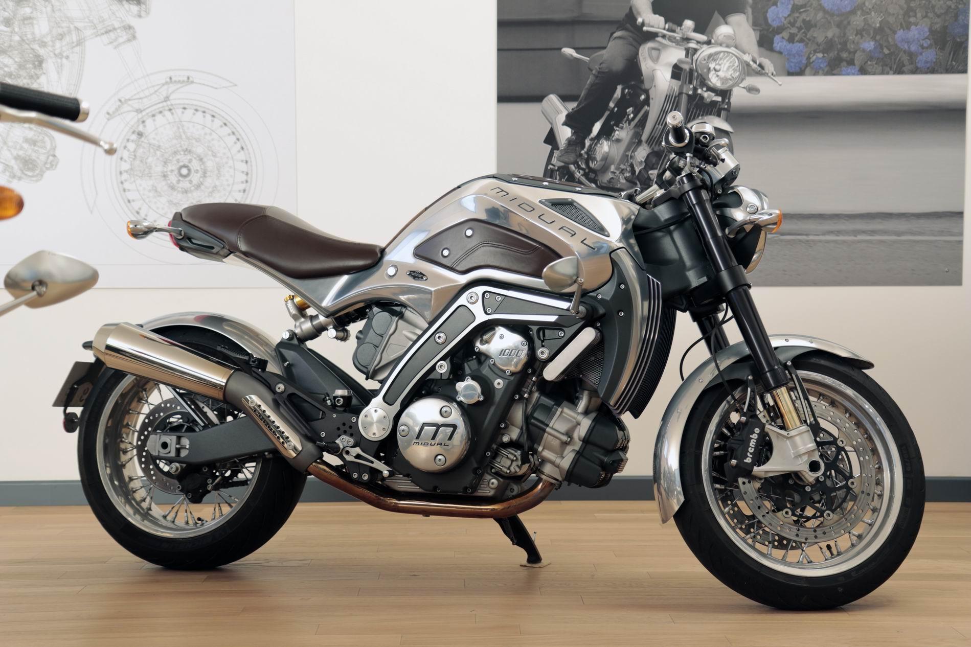 Rtromobile 2017 La Moto Franaise Midual Sera Aussi De